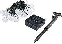 Guirlande lumineuse solaire pour chambre à