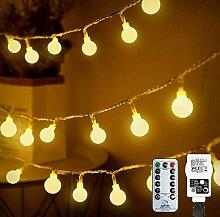 Guirlande lumineuse sphérique 10 m 100 LED - Pour