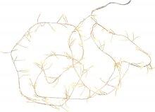Guirlande lumineuse torsadée goutte 160 led