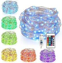 Guirlande lumineuse USB 5V 5m/10m, guirlande