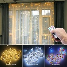 Guirlande lumineuse USB, décorations de noël,