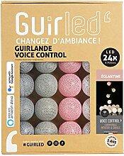 Guirlande lumineuse wifi boules coton LED USB -