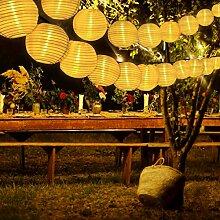 Guirlande Lumineuses Exterieur Solaire Lanterne,