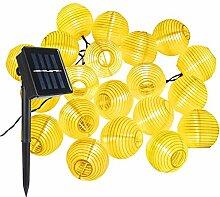 Guirlande Lumineuses Solaire LED Lanterne, ALED