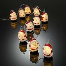 Guirlande pere noel à LED