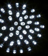 Guirlande programmable 400 LED 40 mètres blanc