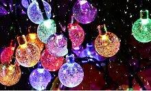 Guirlande solaire d extérieur : Multicolore +