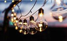 Guirlande solaire de 10 ampoules : 1