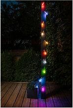 Guirlande solaire guinguette - 10 LED - Galix