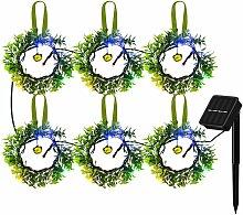 Guirlande solaire lumieres de decoration de Noel