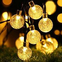Guirlande Solaire, Oxyled 30 LED Jardin terrasse