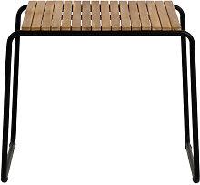 Gulfin - Table à manger de jardin en bois et