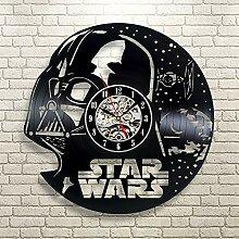 Gullei.com Horloge Murale en Vinyle Star Wars