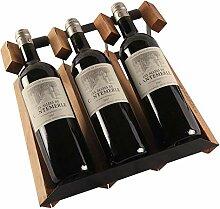 GUOCAO 3-Tier superposable vin vin for baies en
