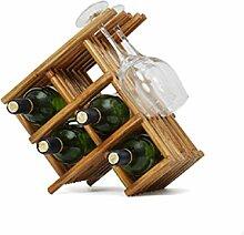 GUOCAO Bois Wine Rack - Wine Rack/Cave/Stockage-