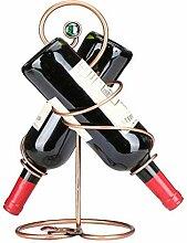 GUOCAO BOUTEILLES Wine Wine Rack Accueil Métal