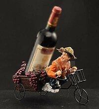 GUOCAO décoration porte-vin créatif support