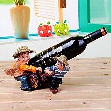 GUOCAO décoration porte-vin en rack européen vin