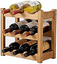 GUOCAO Pliable bois Wine Rack Holder Storage