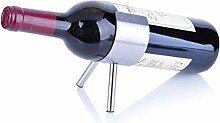 GUOCAO Porte-vin en acier inoxydable Wine Rack