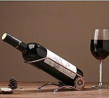GUOCAO Porte-vin Fer Forgé Grape Wine Rack