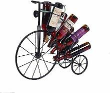 GUOCAO Wine Rack stand contient 8 bouteilles de