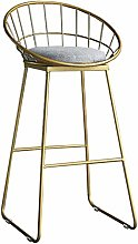 Guodt Contemporain Style Metal Barstools Chaises
