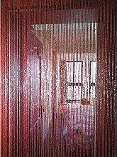 GuoWei 90 Brins Rideau À Perles Bambou Bois Porte