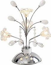 GUOXY Crystal Table Lampe Chambre À Coucher Lampe