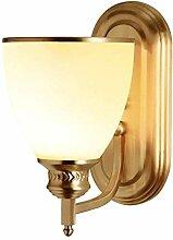 GUOXY Golden Cuivre Lampadaire Lampe de Chevet