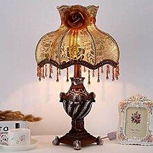 GUOXY Lampe de Chevet Rétro Moderne Simple