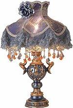 GUOXY Lampe de Table de Style Européen Chambre À