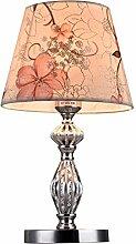 GUOXY Lampe de Table de Tissu Led Romantique