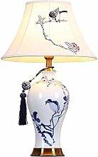 GUOXY Lampe de Table, Lampe de Table En Céramique