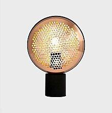 GUOXY Personnalité Simple Métal Salon Lampe de