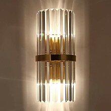 GUOXY Postmodern Minimaliste Light Crystal Wall