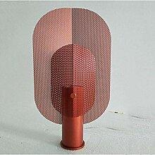 GUOXY Simple Grid Iron Creative Salon Lampes