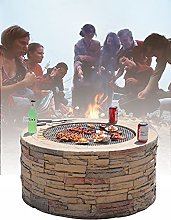 GuoYq Barbecue Exterieur Terrasse Ave Brasero,