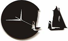 guyuell Horloge Murale Yacht Design Moderne