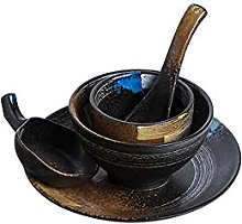 Gweat Ensemble de vaisselle 5 pièces de style