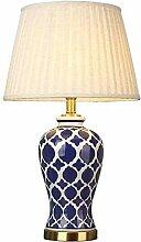 GXY Lampe de Table Chambre À Coucher Céramique