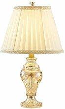 GXY Lampe de Table de Chevet Crystal Classique
