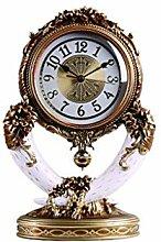 GYQYYGZ Horloge de Bureau Mode rétro Comtoise /