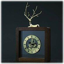 GYQYYGZ Horloge de Bureau Simple Style de Mantel