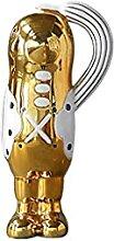GYQYYGZ Ornements Animal de Bureau Sculpture doré