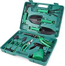 GYW Jeu D'outils De Jardin De 10 Pcs Jeu