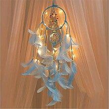 GZQ Attrape-rêves avec Guirlande Lumineuse LED