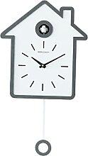 H HILABEE Horloge Murale à Quartz en Plastique,