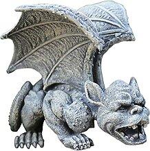 H HILABEE Statue de Gargouille de Jardin Décor de