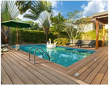 Habitat Et Jardin - Piscine bois rectangle '